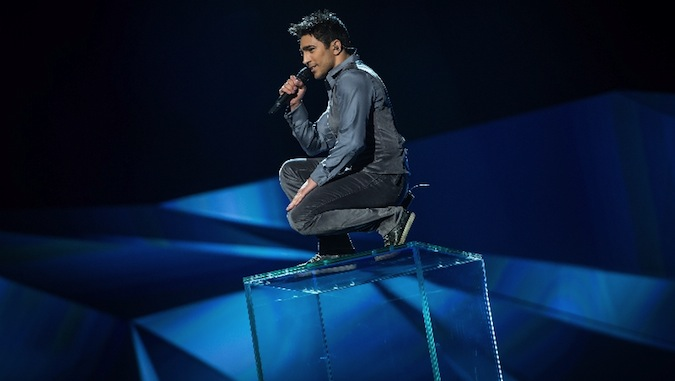 Farid is winning Eurovision